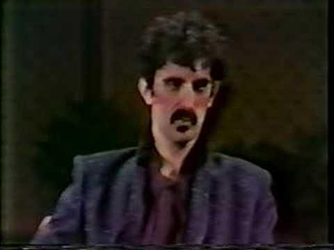 Frank Zappa on Dick Cavett 1/3