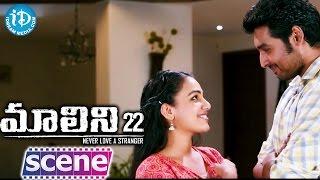 Malini 22 Movie Scenes - Nithya Menen Agrees To Stay With Krish J Sathaar || Naresh