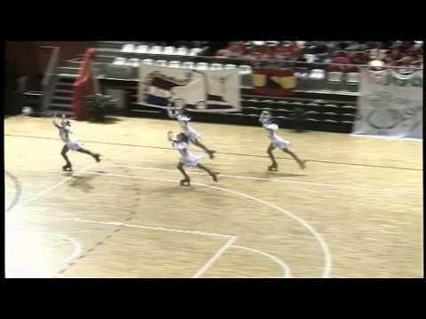 2015 Roller Figure Skating Euopean Championships 2015 - Quartet