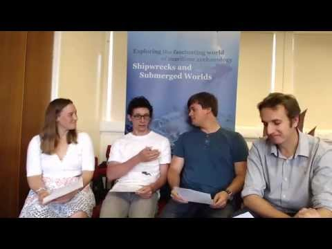 Shipwrecks and Submerged Worlds Question and Answer 2, 2015