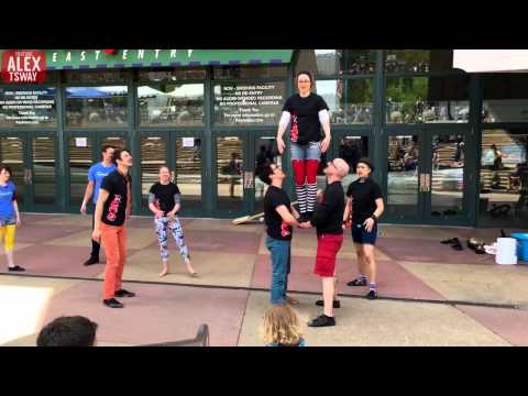 Amazing Street Circus in Seattle! Part 1