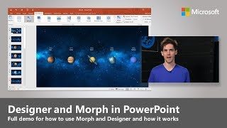 An introduction to Designer and Morph in PowerPoint