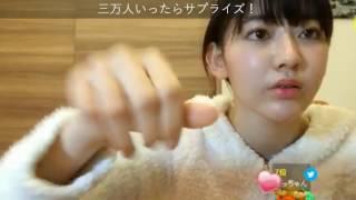 宮脇咲良通常配信からの豆腐プロレス実況配信.