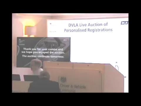 DVLA Auction Live Stream