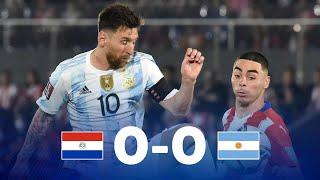 Парагвай  0-0  Аргентина видео