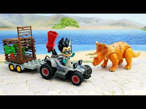 Мультики для детей — мультики с игрушками Герои в Масках - Сафари Ромео.