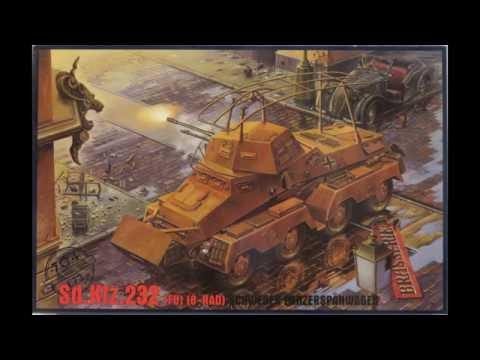 1/72 Roden Sd.Kfz 232 Kit# 704