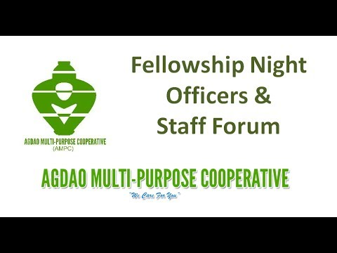 AMPC Fellowship Night, Officers and Staff Forum