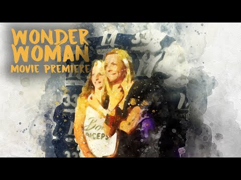 Wonder Woman Premier Party