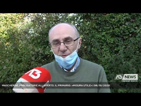 MASCHERINE OBBLIGATORIE ALL'APERTO, IL PRIMARIO: «MISURA UTILE»   06/10/2020