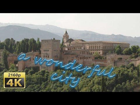 City Walk in Granada, Andalusia - Spain 4K Travel Channel