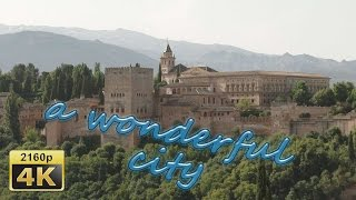 City Walk in Granada, Andalusia - Spain 4K Travel Channel