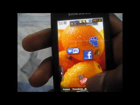 Samsung S8000 jet review part 3 (Youtube / internet browser)