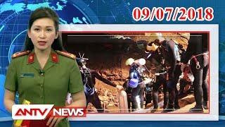 Tin nhanh 9h mới nhất ngày 09/07/2018 | Tin tức | Tin tức mới nhất | ANTV