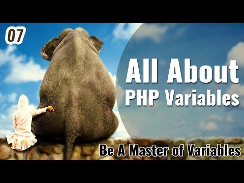 4 Type of PHP Variables in Hindi - Learn PHP in Hindi / Urdu