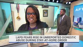Domestic Abuse During Pandemic| Tiffany Mensah | Kelvin Washington Spectrum News LA | May 2020