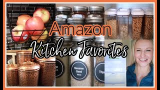 AMAZON KITCHEN MUST HAVES! | AMAZON HAUL 2020 | ORGANIZATION, GADGETS, & CLEANING PRODUCTS YOU NEED!