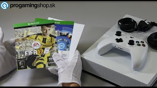 xbox one fifa 17 cz unboxing video progamingshop sk
