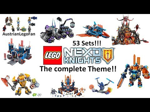 All Lego Nexo Knights Sets - The complete Theme