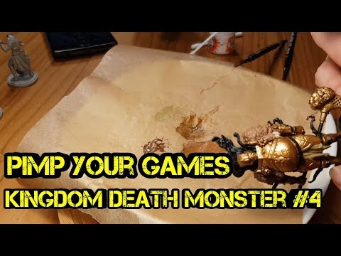 Pimp your Games - Kingdom Death Monster - #4 - Painting Tutorial Golden Smoke Knight - Brettspiel