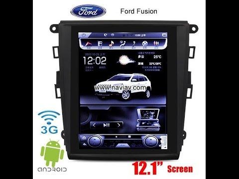 Ford Fusion Car Radio Gps Navi Android 12 1inch Screen