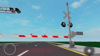 Another Railroad crossing test again in Roblox