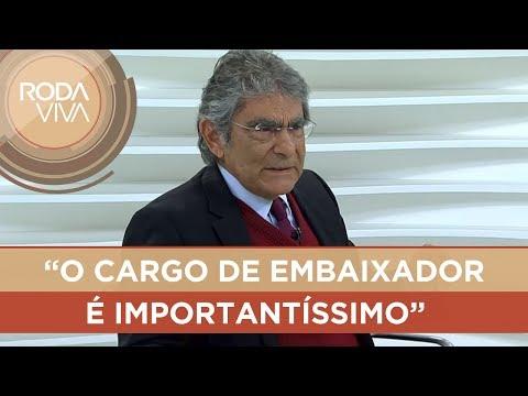 Carlos Ayres Britto fala sobre Eduardo Bolsonaro na embaixada dos Estados Unidos