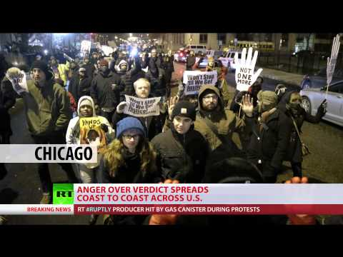 Coast to Coast: Ferguson fury across US as cop acquitted of teen killing
