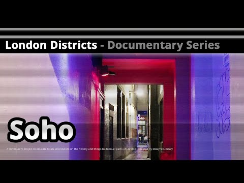 London Districts: Soho (Tour guide)