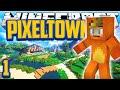 """Minecraft Mods Pixelmon 'Pixeltown' Adventure """"Pallet Town!"""" Ep 1 (Minecraft Pixelmon, Pokemon Mod)"""