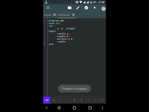 Pascal N-IDE - Editor And Compiler - Programming - Apps on Google
