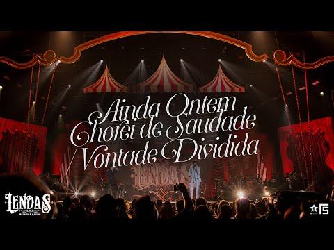 Milionário & Marciano – Pot-Pourri: Ainda Ontem Chorei de Saudade / Vontade Dividida | DVD Lendas