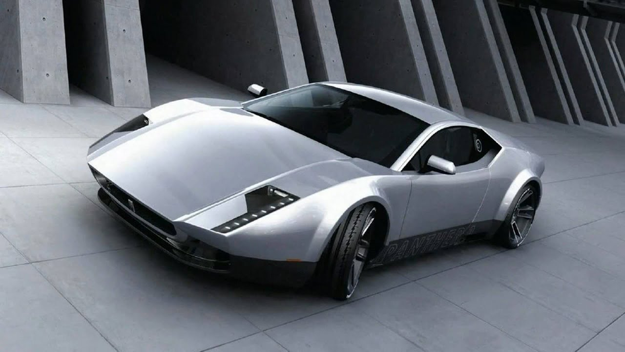 2011 de tomaso pantera concept youtube. Black Bedroom Furniture Sets. Home Design Ideas