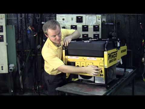 WINCO Industrial Portable Generators WC5000H & WC6000HE