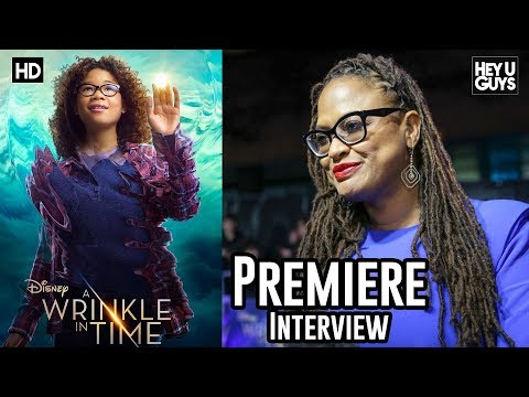 Director Ava DuVernay - A Wrinkle in Time Red Carpet Premiere Interview