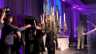 Honouree Candle Lighting Ceremony - Friendship Circle Bar Mitzvah Gala 2015