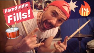 Ep.1 Creative Drum Fills using Paradiddles with Si-Fi Drum Guy thumbnail