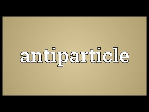 Header of antiparticle