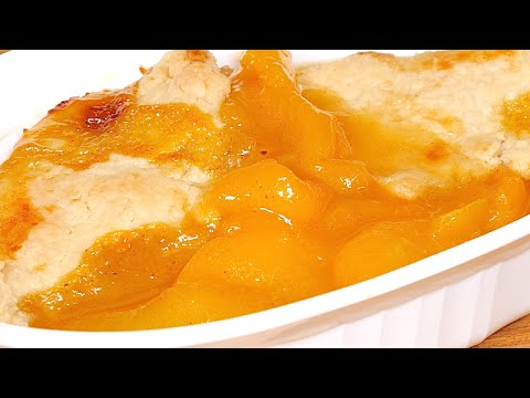Peach Cobbler Recipe From Scratch