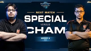 Cham vs SpeCial ZvT - Ro16 Group A - WCS Winter Americas