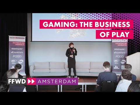 """""""Gaming: The Business of Play"""" with Dr Jo Twist OBE, Ukie 
