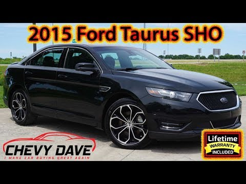 2015 Black Ford Taurus SHO Edition Review and It's FOR SALE