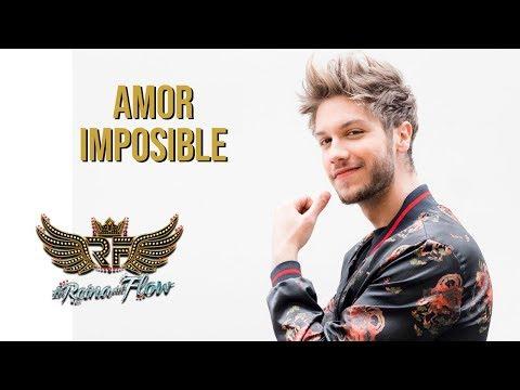 Amor imposible - Erik (David Botero) La Reina del Flow 馃幎 Canci贸n oficial - Letra | Caracol TV