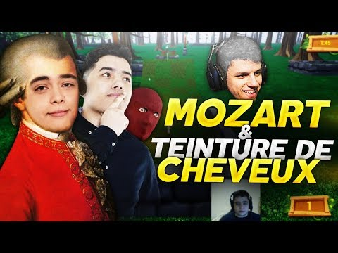 MOZART & TEINTURES DE CHEVEUX ! (GOLF IT)