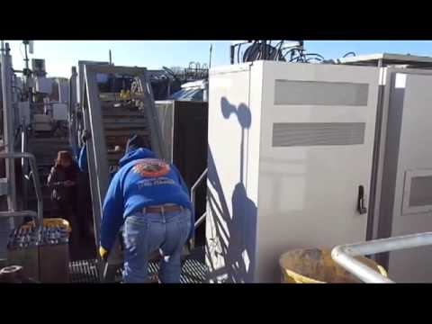 Decommissioning Roof Top Cell Phone Tower Shelters And