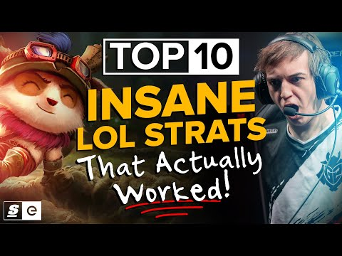 The Top 10 Insane League Strats That Actually Worked