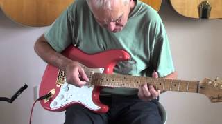 I'm still waiting.Diana Ross Guitar instrumental cover. Phil McGarrick