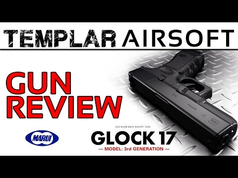 Airsoft Pistols | Tokyo Marui Glock 17 Gas Blow Back Airsoft Gun Review