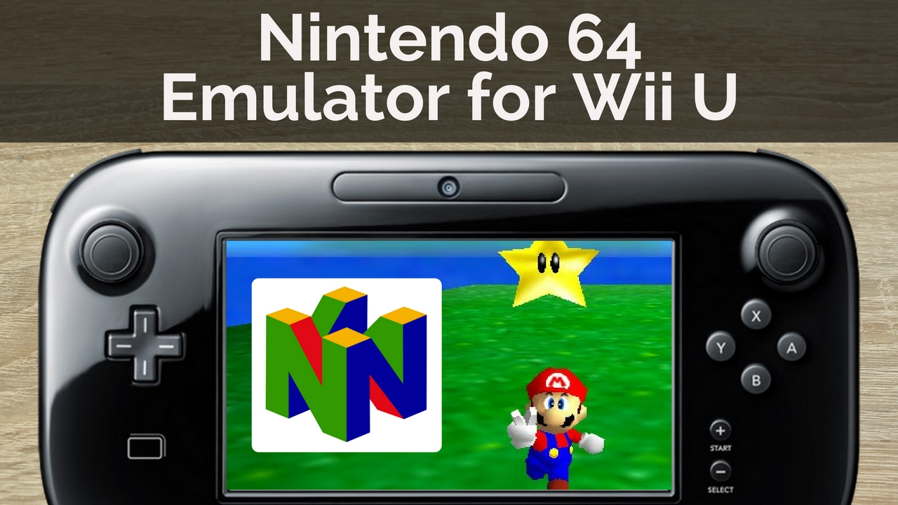 How to Play Nintendo 64 Games on Wii U - YouTube