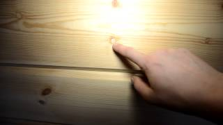 Заделка сучков и трещин, шлифовка бруса(Заделка сучков и трещин в деревянном доме перед шлифовкой., 2013-02-14T18:13:56.000Z)